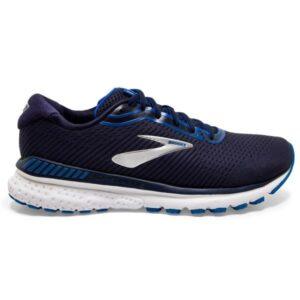 Brooks Adrenaline GTS 20 - Mens Running Shoes - Navy/Blue/Silver