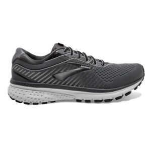 Brooks Ghost 12 - Mens Running Shoes - Black/Pearl/Oyster