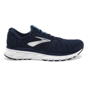 Brooks Glycerin 17 - Mens Running Shoes - Navy/Deep Water/White