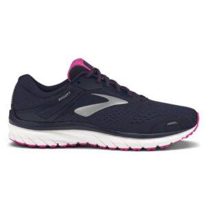 Brooks Adrenaline GTS 18 - Womens Running Shoes - Evening Blue/Silver