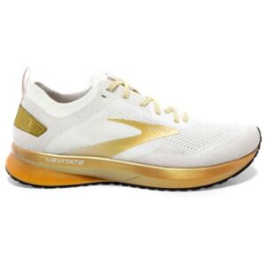Brooks Levitate 4 LE - Womens Running Shoes - White/Gold