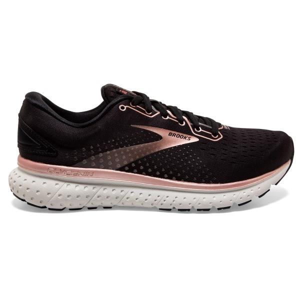 Brooks Glycerin 18 - Womens Running Shoes - Rose Metallic/Black