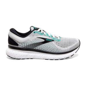 Brooks Glycerin 18 - Womens Running Shoes - Grey/Black/Atlantis
