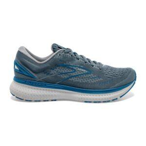 Brooks Glycerin 19 - Mens Running Shoes - Quarry/Grey/Dark Blue