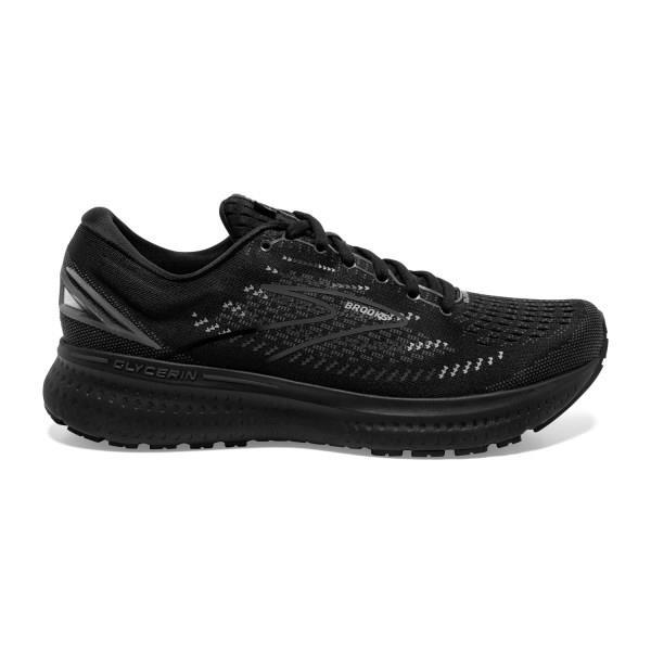 Brooks Glycerin 19 - Mens Running Shoes - Triple Black/Ebony