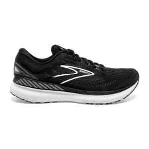 Brooks Glycerin GTS 19 - Mens Running Shoes - Black/White