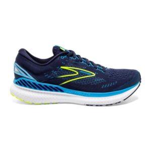 Brooks Glycerin GTS 19 - Mens Running Shoes - Navy/Blue/Nightlife