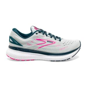 Brooks Glycerin 19 - Womens Running Shoes - Ice Flow/Navy/Pink