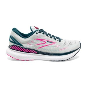 Brooks Glycerin GTS 19 - Womens Running Shoes - Ice Flow/Navy/Pink