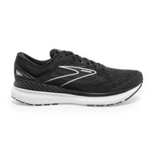 Brooks Glycerin GTS 19 - Womens Running Shoes - Black/White