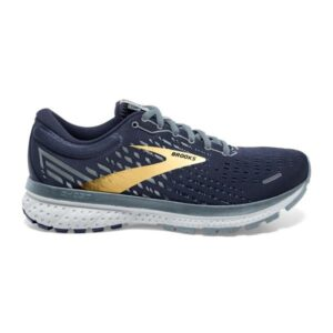 Brooks Ghost 13 - Mens Running Shoes - Peacoat/Grey/Gold