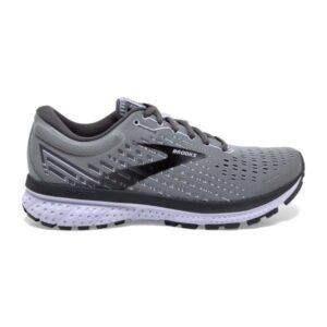 Brooks Ghost 13 - Womens Running Shoes - Grey/Blackened Pearl/Purple
