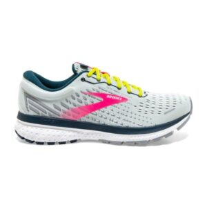 Brooks Ghost 13 - Womens Running Shoes - Ice Flow/Pink/Pond