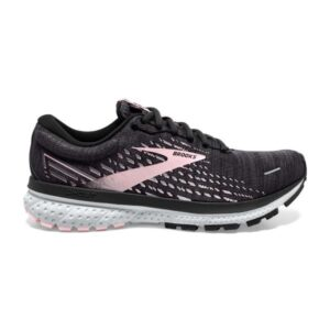 Brooks Ghost 13 Knit - Womens Running Shoes - Ombre/Black/Primrose