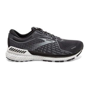 Brooks Adrenaline GTS 21 - Mens Running Shoes - Blackened Pearl/Black/Grey