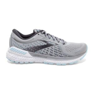 Brooks Adrenaline GTS 21 - Womens Running Shoes - Oyster/Alloy/Light Blue