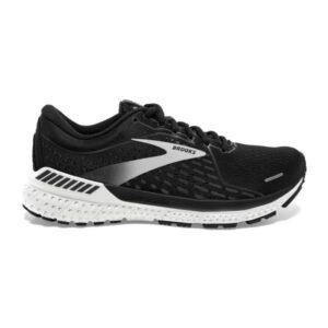 Brooks Adrenaline GTS 21 - Womens Running Shoes - Black/White