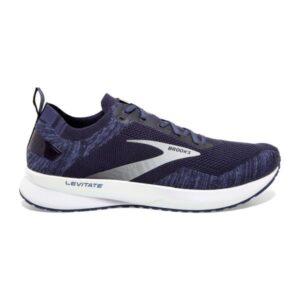 Brooks Levitate 4 - Mens Running Shoes - Navy/Grey/White