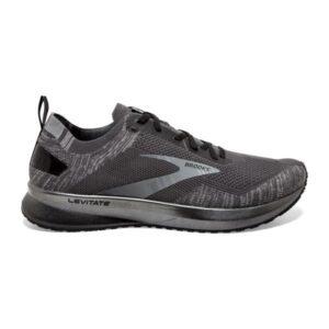 Brooks Levitate 4 - Mens Running Shoes - Blackened Pearl/Grey/Black