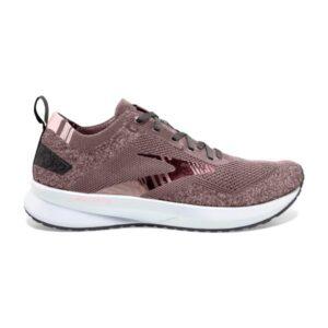 Brooks Levitate 4 - Womens Running Shoes - Blackened Pearl/Metallic/Primrose