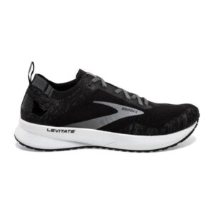 Brooks Levitate 4 - Womens Running Shoes - Black/Blackened Pearl/White