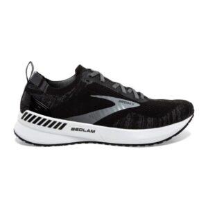 Brooks Bedlam 3 - Womens Running Shoes - Black/Blackened Pearl/White