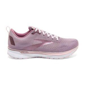 Brooks Revel 4 - Womens Running Shoes - Almond/Metallic/Primrose