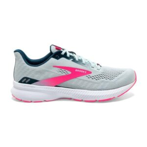 Brooks Launch 8 - Womens Running Shoes - Ice Flow/Navy/Pink