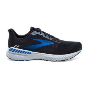 Brooks Launch GTS 8 - Mens Running Shoes - Black/Grey/Blue