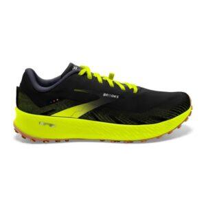 Brooks Catamount - Mens Trail Racing Shoes - Black/Nightlife
