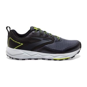 Brooks Divide 2 - Mens Trail Running Shoes - Black/Ebony/Nightlife