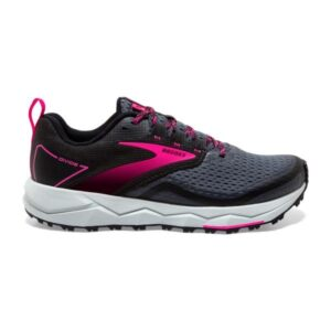 Brooks Divide 2 - Womens Trail Running Shoes - Black/Ebony/Pink