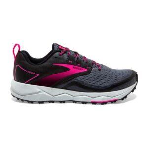 Brooks Divide 2 - Womens Trail Running Shoes - Black/Ebony/Pink
