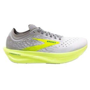 Brooks Hyperion Elite 2 - Unisex Road Racing Shoes - Elite White/Nightlife/Grey