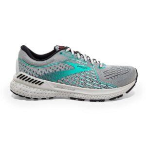 Brooks Adrenaline GTS 21 - Womens Running Shoes - Jet Stream/Black/Atlantis