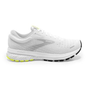 Brooks Ghost 13 - Mens Running Shoes - White/Nightlife