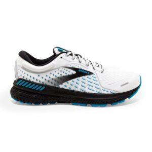 Brooks Adrenaline GTS 21 - Mens Running Shoes - Grey/Atomic Blue
