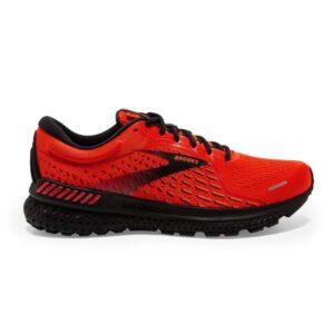 Brooks Adrenaline GTS 21 - Mens Running Shoes - Samba/Cherry/Black