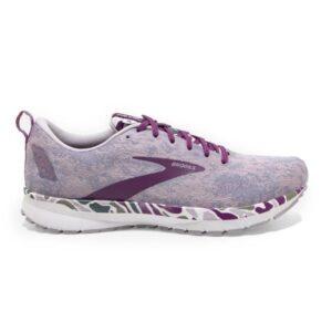 Brooks Revel 4 - Womens Running Shoes - White/Wood Violet/Iris