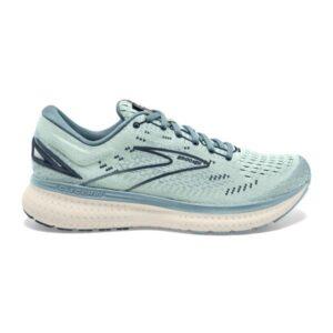 Brooks Glycerin 19 - Womens Running Shoes - Aqua Glass/Whisper White/Navy