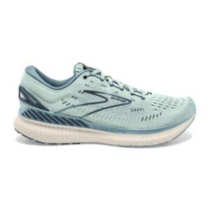 Brooks Glycerin GTS 19 - Womens Running Shoes - Aqua Glass/Whisper White/Navy