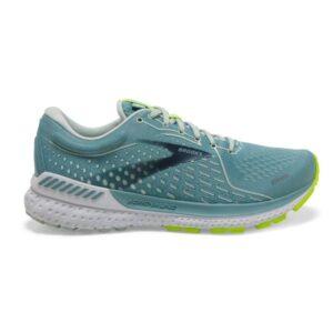 Brooks Adrenaline GTS 21 - Womens Running Shoes - Whisper/Tourmaline/Nightlife