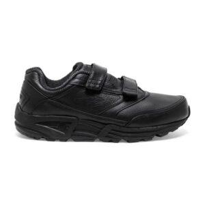 Brooks Addiction Walker V-Strap - Womens Walking Shoes - Black