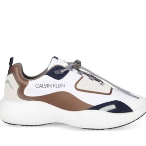 Calvin Klein Mens Chunky Sneaker Dusty Brown