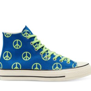 Converse Chuck 70 High Unleash Peace Blue