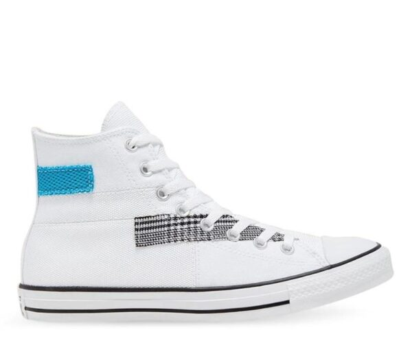 Converse Chuck Taylor All Star Hi Patchwork White