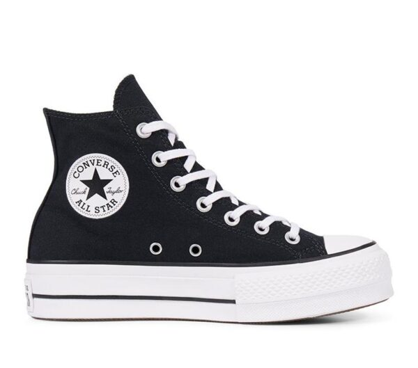 Converse Womens CT All Star Lift Hi Black