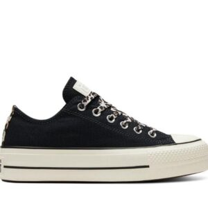 Converse Womens Chuck Taylor All Star Lift Lo Black