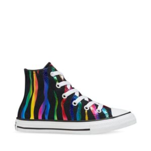 Converse Kids Chuck Taylor All Star Hi Rainbow Zebra