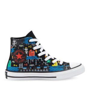 Converse Kids Chuck Taylor All Star Hi Gamer Black